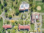 Muskingum University Aerial Photography | Bialosky + Partners Architects