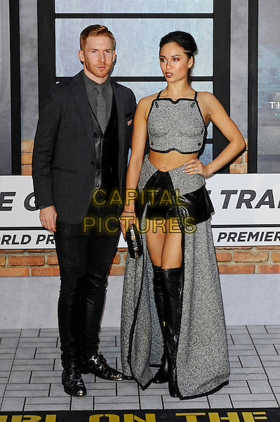 LONDON, ENGLAND - SEPTEMBER 20: Neil Jones and Katya Jones attending 'The Girl On The Train' World Premiere at Odeon Cinema, Leicester Square on September 20, 2016 in London, England.<br /> CAP/MAR<br /> &copy;MAR/Capital Pictures