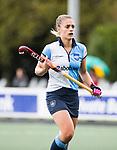 AMSTELVEEN - Lise Donkersloot (Hurley). Hoofdklasse competitie dames, Hurley-HDM (2-0) . FOTO KOEN SUYK