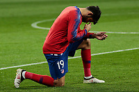 Atletico de Madrid's Diego Costa during UEFA Champions League match, Round of 16, 1st leg between Atletico de Madrid and Juventus at Wanda Metropolitano Stadium in Madrid, Spain. February 20, 2019. (Insidefoto/ALTERPHOTOS/A. Perez Meca)<br /> ITALY ONLY