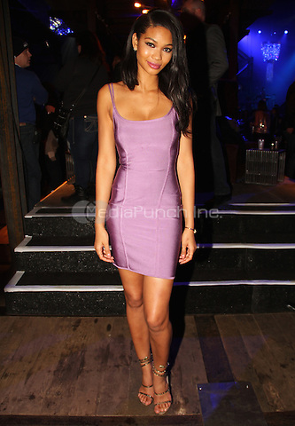 NEW YORK, NY - FEBRUARY 1: Chanel Iman at the DirecTV Super Saturday Night party at the 40/40 club on February 1, 2014 in New York, New York. Photo Credit: Walik Goshorn / MediaPunch .