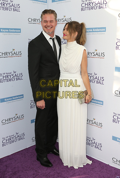 BRENTWOOD, CA June 03- Rebecca Gayheart-Dane, Eric Dane, at 16th Annual Chrysalis Butterfly Ball at Private Residence, California on June 03, 2017. Credit: Faye Sadou/MediaPunch<br /> CAP/MPI/FS<br /> &copy;FS/MPI/Capital Pictures