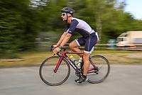 Teilnehmer auf der Radstrecke - Mörfelden-Walldorf 21.07.2019: 11. MoeWathlon