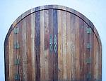 Grass Restaurant Doors, Design District, Miami, Florida