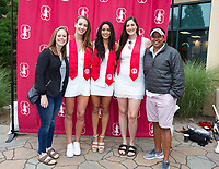 Stanford, California - June 16, 2019: Stanford Commencement 2019 at Stanford Stadium in Stanford, California.