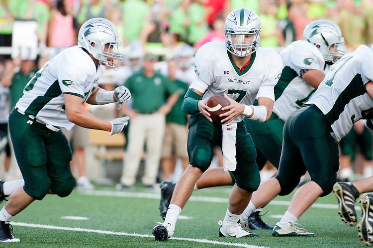 Lincoln Southwest quarterback Tavarius Bender a Kansas State recruit.
