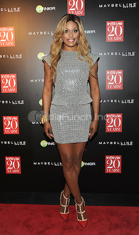 New York, NY-September 8: Laverne Cox attends Instyle 20th Anniversary Party on September 8, 2014 at Diamond Horseshoe at the Paramount Hotel in New York City.  Credit: John Palmer/MediaPunch