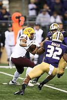NOVEMBER 19:  ASU's Demario Richard against Washington.  Washington defeated ASU 44-18 at the University of Washington in Seattle, WA