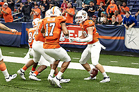 SAN ANTONIO, TX - NOVEMBER 24, 2018: The University of Texas at San Antonio Roadrunners fall to the University of North Texas Mean Green 24-21 at the Alamodome. (Photo by Jeff Huehn)