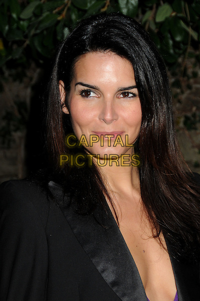 ANGIE HARMON .3rd Annual Women In Film Pre-Oscar Party held at a Private Residence in Beverly Hills, California, USA, .4th March 2010..portrait headshot make-up  black jacket blazer .CAP/ADM/BP.©Byron Purvis/AdMedia/Capital Pictures.