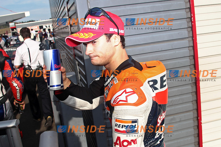 .13-10-2012 Motegi (JAP).Motogp - motogp.in the picture: Dani Pedrosa - Repsol Honda team .Foto Semedia/Insidefoto.ITALY ONLY