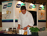 07-02-06 Chef Neven Maguire cookery demonstration in conjunction with Flogas held in the Kilmore Hotel, Cavan..Chef Neven Maguire..Photo:Barry Cronin/Newsfile.