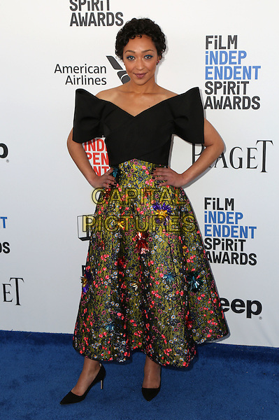 SANTA MONICA, CA - FEBRUARY 25: Ruth Negga attends the 2017 Film Independent Spirit Awards at Santa Monica Pier on February 25, 2017 in Santa Monica, California.   <br /> CAP/MPI/PAR<br /> &copy;PAR/MPI/Capital Pictures