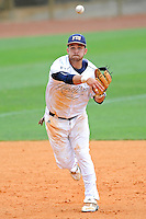 16 May 2010:  FIU's Jeremy Patton (22) throws to first as the FIU Golden Panthers defeated the University of South Alabama Jaguars, 5-0, at University Park Stadium in Miami, Florida.