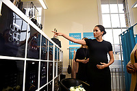 10 January 2019 - London, England - Meghan Markle Duchess Of Sussex visits Smart Works Charity in London. Photo Credit: ALPR/AdMedia