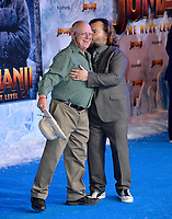 """LOS ANGELES, USA. December 10, 2019: Thomas William Black & Jack Black at the world premiere of """"Jumanji: The Next Level"""" at the TCL Chinese Theatre.<br /> Picture: Paul Smith/Featureflash"""