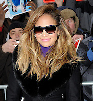 NEW YORK, NY - JANUARY 22: Actress Jennifer Lopez pictured at the Taping of Good Morning America at the ABC Times Square Studios in New York City ,on January 22,2013  RTNHP / Mediapunchinc /NortePhoto