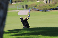 Shane Lowry (IRL) plays his 2nd shot on the 17th hole during Sunday's Final Round of the 2018 Turkish Airlines Open hosted by Regnum Carya Golf &amp; Spa Resort, Antalya, Turkey. 4th November 2018.<br /> Picture: Eoin Clarke | Golffile<br /> <br /> <br /> All photos usage must carry mandatory copyright credit (&copy; Golffile | Eoin Clarke)