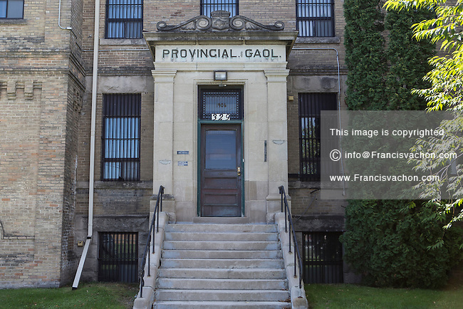 Portage Central Judicial District Gaol and Courthouse is seen in Portage La Prairie, Manitoba, Monday August 17, 2015.