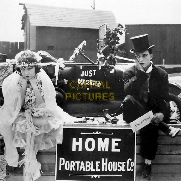 Buster Keaton  .in One Week.*Filmstill - Editorial Use Only*.CAP/PLF.Supplied by Capital Pictures.