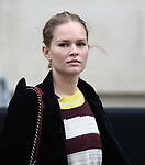 Anna Ewers leaving Coco Channel Fashion Show Women Fall Winter 19-2020  as part of the Paris Fashion Week in Paris, France on March the 05 of 2019. The last show of the creations of Karl Lagerfeld