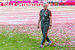 12.05.2018, Allianz Arena, Muenchen, GER, 1.FBL,  FC Bayern Muenchen vs. VfB Stuttgart, im Bild Jupp Heynckes (Cheftrainer FCB) auf dem Weg in die Kabine<br /> <br />  Foto &copy; nordphoto / Straubmeier