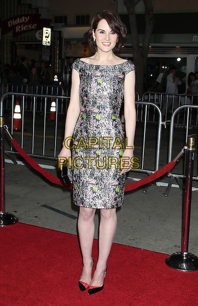 24 February 2014 - Westwood, California - Michelle Dockery. &quot;Non-Stop&quot; Los Angeles Premiere held at the Regency Village Theatre. <br /> CAP/ADM/RE<br /> &copy;Russ Elliot/AdMedia/Capital Pictures