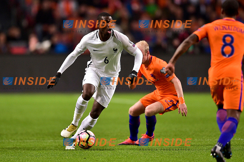 Paul Pogba (France) <br /> Amsterdam 10-10-2016 Calcio Qualificazioni mondiali <br /> Olanda Francia <br /> Foto Panoramic/Insidefoto <br /> ITALY ONLY
