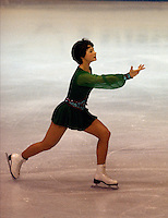 Annett Potzsch East Germany 1978 World Figure Skating Championships, Ottawa. Canada. Gold medal winner