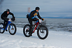 Frosty Bottom Bicylce Race January 10, 2019 in Anchorage Alaska.