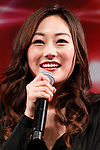 Actress Karen Fukuhara speaks during a talk show during the Tokyo Comic Con 2017 at Makuhari Messe International Exhibition Hall on December 1, 2017, Tokyo, Japan. This is the second year that San Diego Comic-Con International held the event in Japan. Tokyo Comic Con runs from December 1 to 3. (Photo by Rodrigo Reyes Marin/AFLO)
