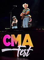 09 June 2018 - Nashville, Tennessee - Jon Pardi. 2018 CMA Music Fest Nightly Concert held at Nissan Stadium.  <br /> CAP/ADM/LF<br /> &copy;LF/ADM/Capital Pictures