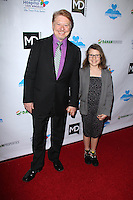 """Dave Foley and daughter<br /> at the Dream Builders Project """"A Brighter Future For Children,"""" H.O.M.E., Beverly Hills, CA 03-15-14<br /> David Edwards/DailyCeleb.Com 818-249-4998"""