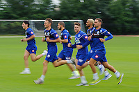 QPR team in training