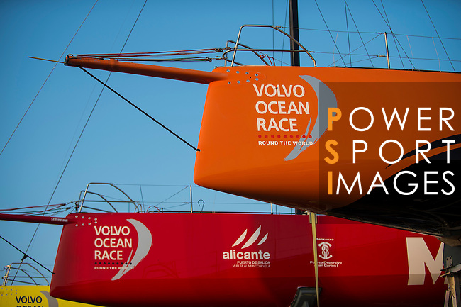 Public enjoy the village of the Volvo Ocean Race Leg 3 Abu Dhabi-Sanya on January 28, 2015 at the Serenity Marina in Sanya, China. The Volvo Ocean Race 2014-15 is the 12th running of this ocean marathon. Starting from Alicante in Spain on October 11, 2014, the route, spanning some 39,379 nautical miles, visits 11 ports in 11 countries (Spain, South Africa, United Arab Emirates, China, New Zealand, Brazil, United States, Portugal, France, the Netherlands and Sweden) over nine months. The Volvo Ocean Race is the world's premier ocean race for professional racing crews. Photo by Victor Fraile / Power Sport Images