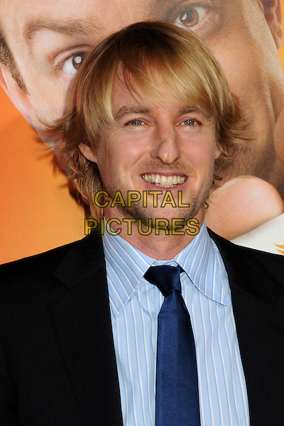 "OWEN WILSON.""Hall Pass"" Los Angeles Premiere held at The Cinerama Dome,  Hollywood, California, USA, 23rd February 2011..portrait headshot blue shirt tie black jacket smiling beard facial hair stubble .CAP/ADM/BP.©Byron Purvis/AdMedia/Capital Pictures."