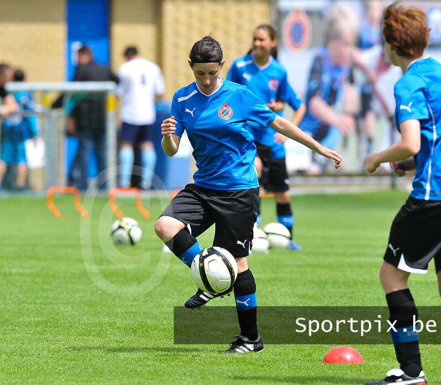 eerste training Club Brugge Dames : Lies Van Hamme.foto DAVID CATRY / Vrouwenteam.be