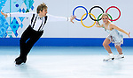 Penny Coomes and Nicholas Buckland of Great Britain compete in the Figure Skating Team Ice Dance Short Program during the 2014 Sochi Olympic Winter Games at Iceberg Skating Palace on February 8, 2014 in Sochi, Russia. Photo by Victor Fraile / Power Sport Images