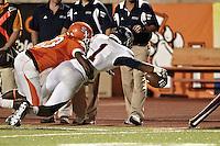 HUNTSVILLE, TX - OCTOBER 1, 2011: The University of Texas at San Antonio Roadrunners vs. the Sam Houston State University Bearkats Football at the Elliott T. Bowers Stadium. (Photo by Jeff Huehn)