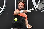 12.06.2019, Tennisclub Weissenhof e. V., Stuttgart, GER, Mercedes Cup 2019, ATP 250, Nikoloz BASILASHVILI (GEO) [4] vs Marton FUCSOVICS (HUN) <br /> <br /> im Bild Nikoloz BASILASHVILI (GEO)<br /> <br /> Foto © nordphoto/Mauelshagen