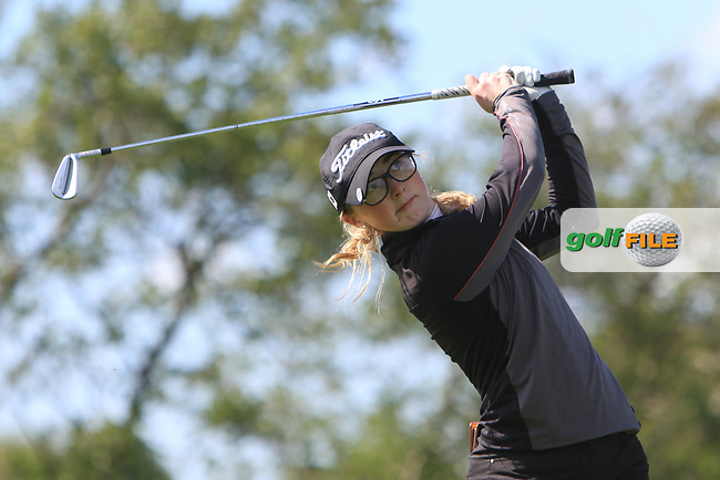 Jessica Ross (Clandeboye) on the 12th tee during Round 4 of the Ulster Stroke Play Championship at Galgorm Castle Golf Club, Ballymena, Northern Ireland. 28/05/19<br /> <br /> Picture: Thos Caffrey / Golffile<br /> <br /> All photos usage must carry mandatory copyright credit (© Golffile   Thos Caffrey)