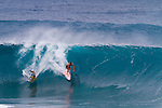 The Banzai Pipeline is a surf reef break lokated on Oahu's North shore