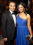 Ilyas Colombowala and Elizabeth Abraham at the Houston Grand Opera's Opening Night dinner Friday Oct. 23,2009. (Dave Rossman/For the Chronicle)