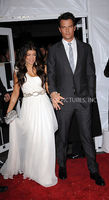 WWW.ACEPIXS.COM . . . . . ....December 15 2009,  New York City....Singer Fergie and husband Josh Duhamel arriving at the New York premiere of 'Nine' at the Ziegfeld Theatre on December 15 2009 in New York City....Please byline: KRISTIN CALLAHAN - ACEPIXS.COM.. . . . . . ..Ace Pictures, Inc:  ..(212) 243-8787 or (646) 679 0430..e-mail: picturedesk@acepixs.com..web: http://www.acepixs.com