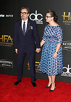 BEVERLY HILLS, CA - NOVEMBER 5: Gary Oldman, Gisele Schmidt, at The 21st Annual Hollywood Film Awards at the The Beverly Hilton Hotel in Beverly Hills, California on November 5, 2017. Credit: Faye Sadou/MediaPunch