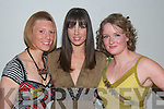 Members of Muckross Rowing Club who were models in the fashion show in The Killarney oaks Hotel on Friday night, were Maura O'Dywer, Killarney, Noelle Riordan, Killorglin and Anita Casey Killarney..   Copyright Kerry's Eye 2008