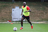 Jetro Willems (Eintracht Frankfurt) - 28.08.2018: Eintracht Frankfurt Training, Commerzbank Arena, DISCLAIMER: DFL regulations prohibit any use of photographs as image sequences and/or quasi-video.
