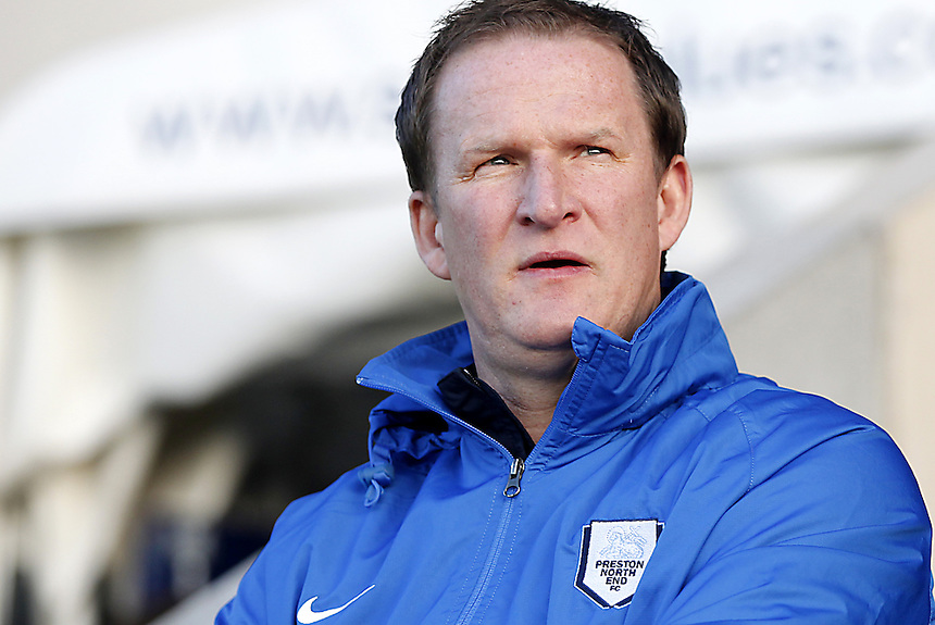 Preston North End's Manager Simon Grayson<br /><br />Photo by Mick Walker/CameraSport<br /><br />Football - The Football League Sky Bet League One - Shrewsbury Town v Preston North End - Sunday 29th December 2013 - Greenhous Meadow - Shrewsbury<br /><br />&copy; CameraSport - 43 Linden Ave. Countesthorpe. Leicester. England. LE8 5PG - Tel: +44 (0) 116 277 4147 - admin@camerasport.com - www.camerasport.com