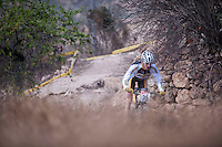 Chelva, SPAIN - MARCH 6: Jose Maria Cristobal during Spanish Open BTT XCO on March 6, 2016 in Chelva, Spain