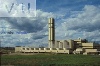 Ogden Martin System Incinerator, energy recovery facility. Generates power to Virginia power.